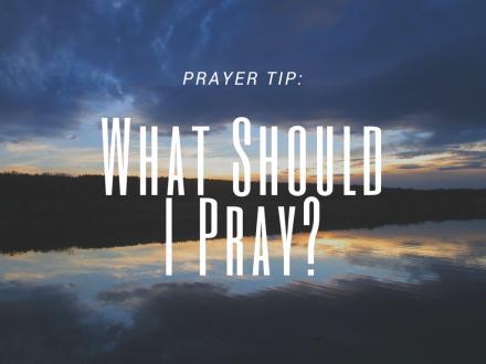 Prayer Tip-