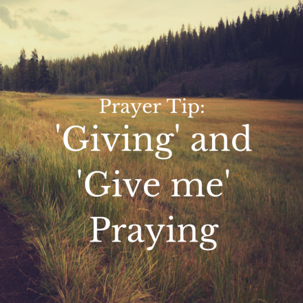 giving-and-give-me-praying